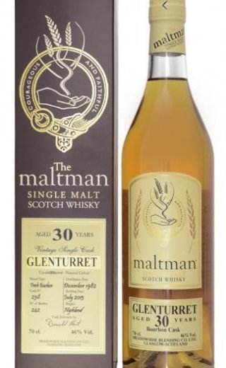 Glenturret 30 Year Old 1982 - The Maltman